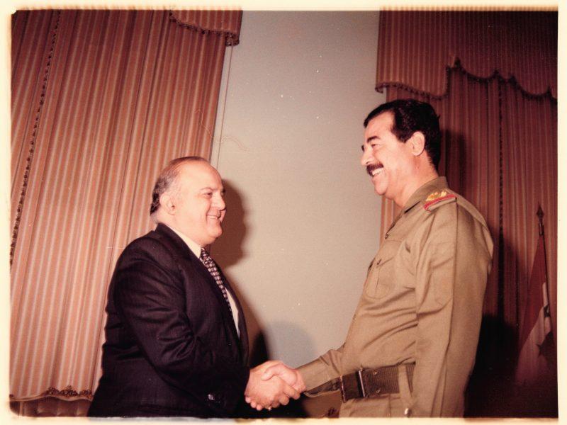 Walid Abou Zahr & Saddam Hussein